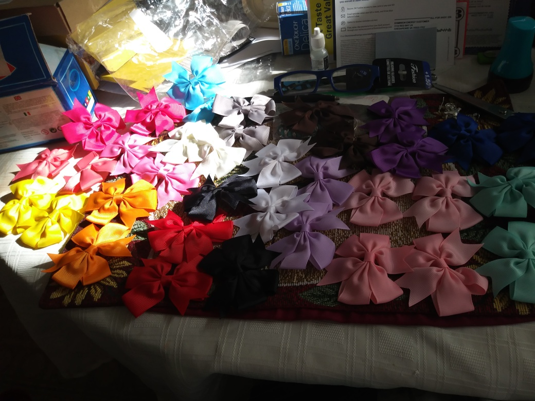 Beautiful hair bows!