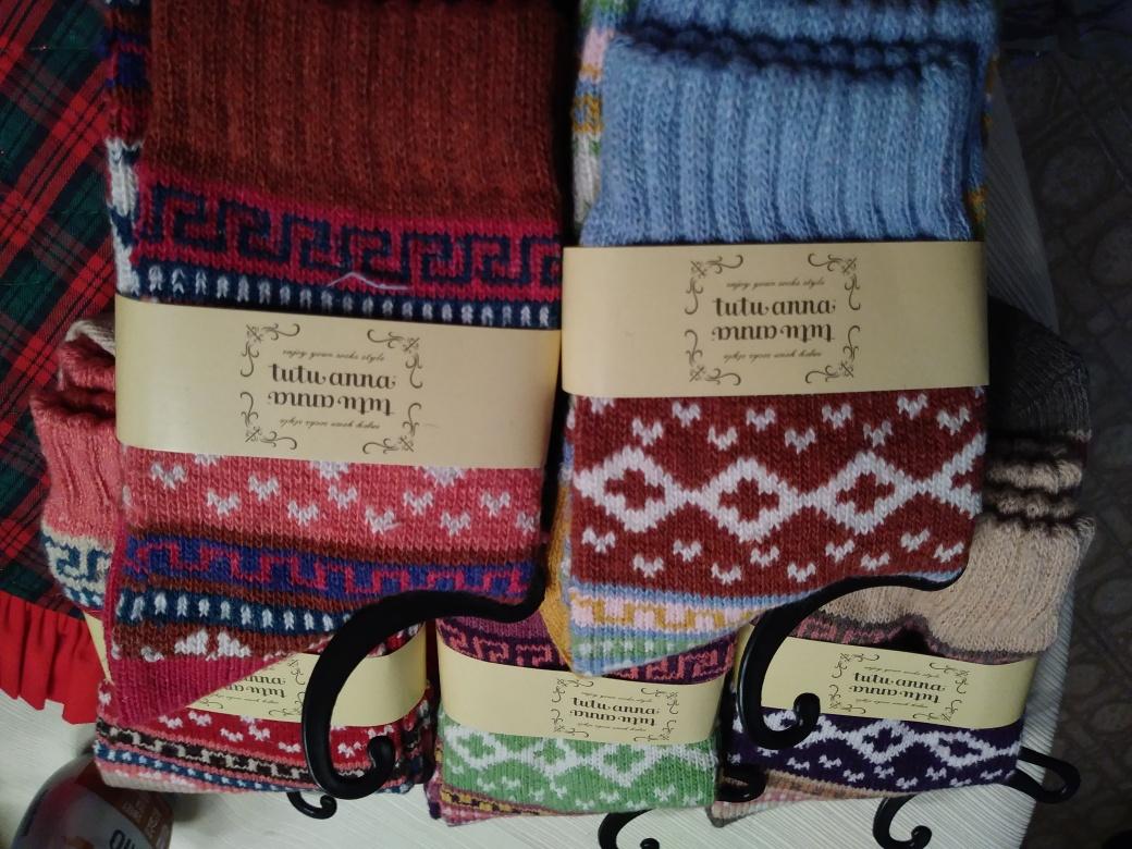 Wonderful and beautiful socks