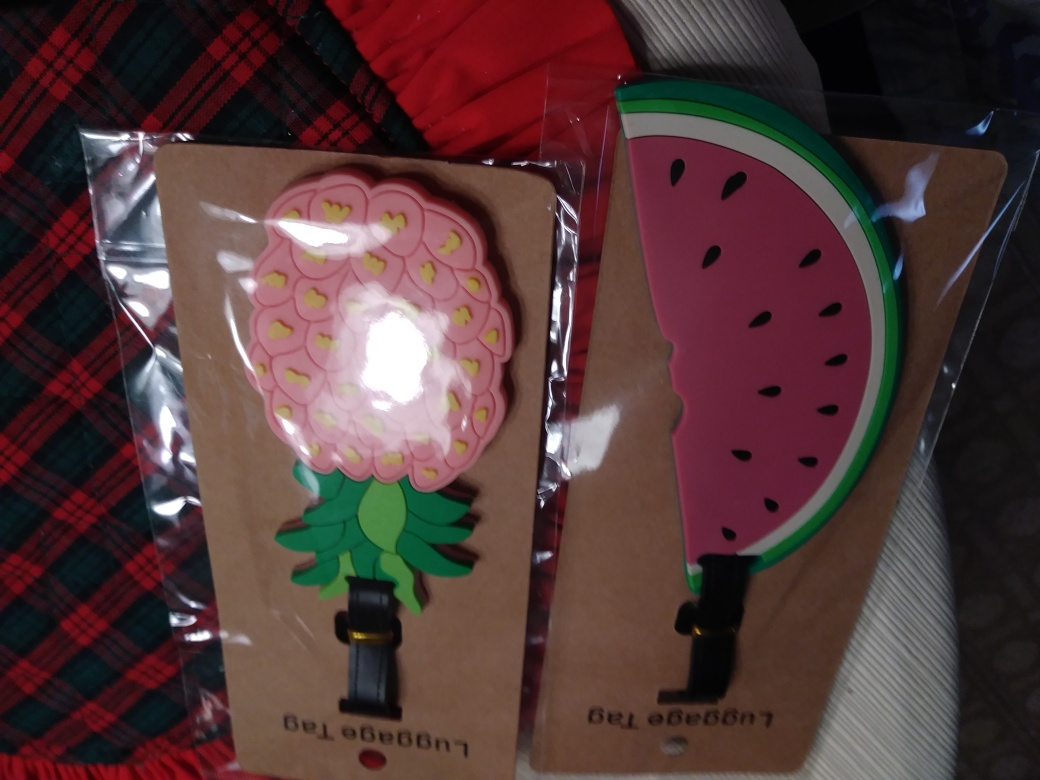 Adorable luggage tags!