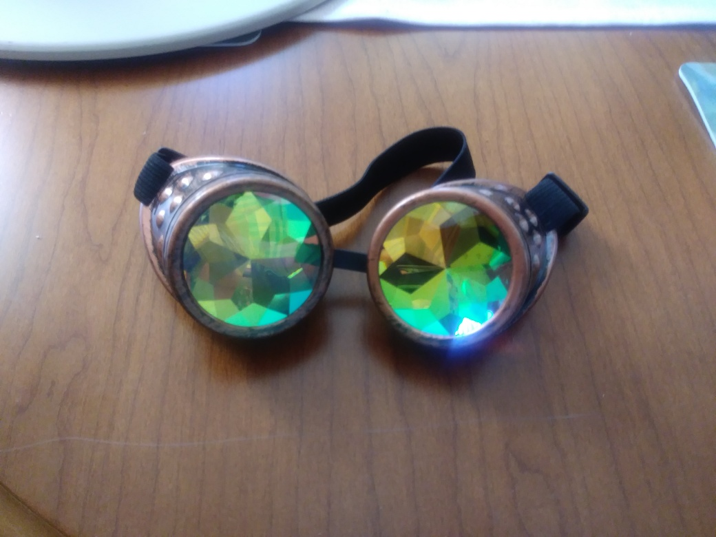 Really Cool Kaleidoscope Goggles