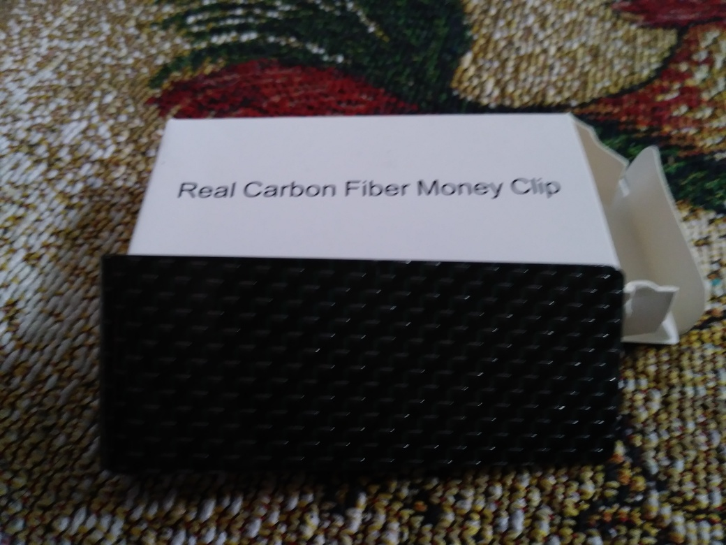 Carbon Fiber Money Clip makes perfect gift!