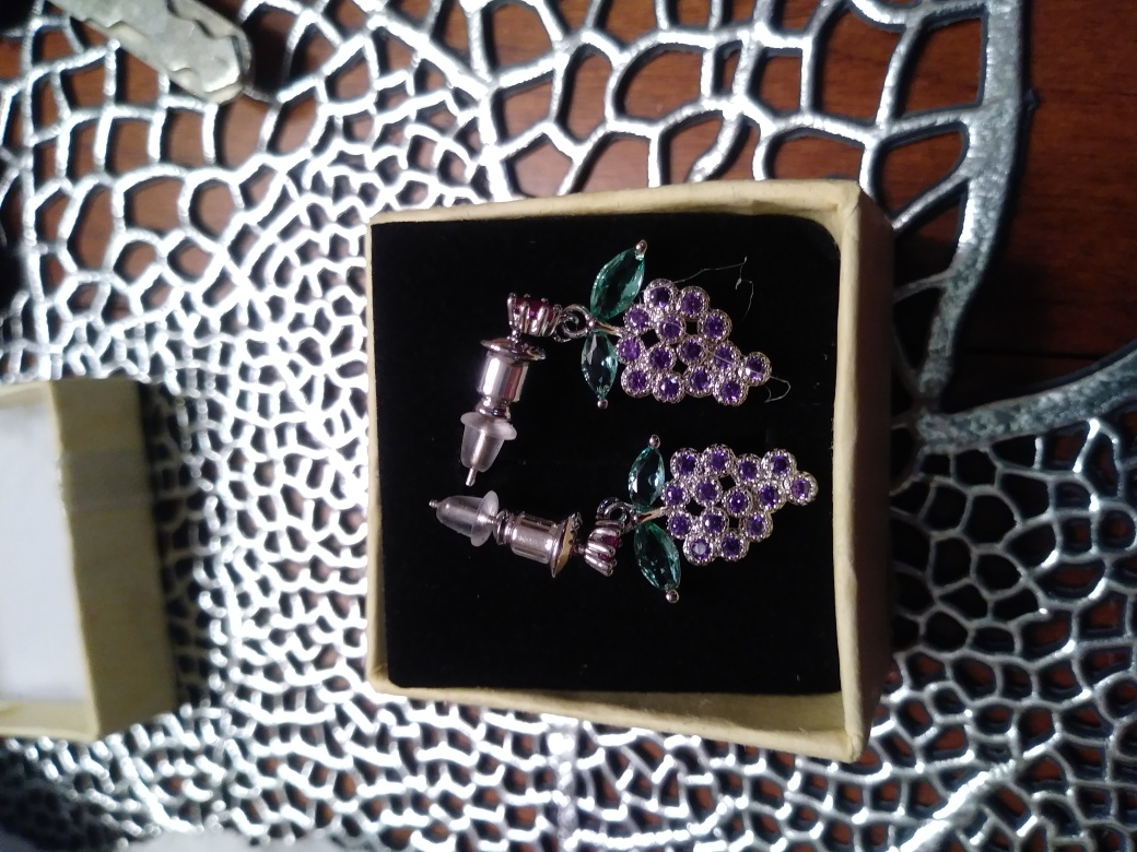 Gorgeous Grape Earrings