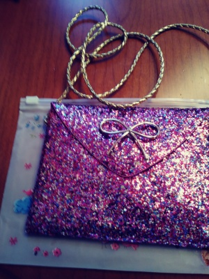 precious little glitter handbag for girls