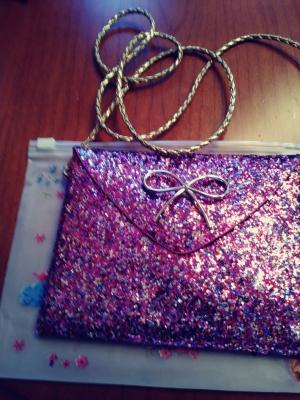 precious little glitter handbag for girls