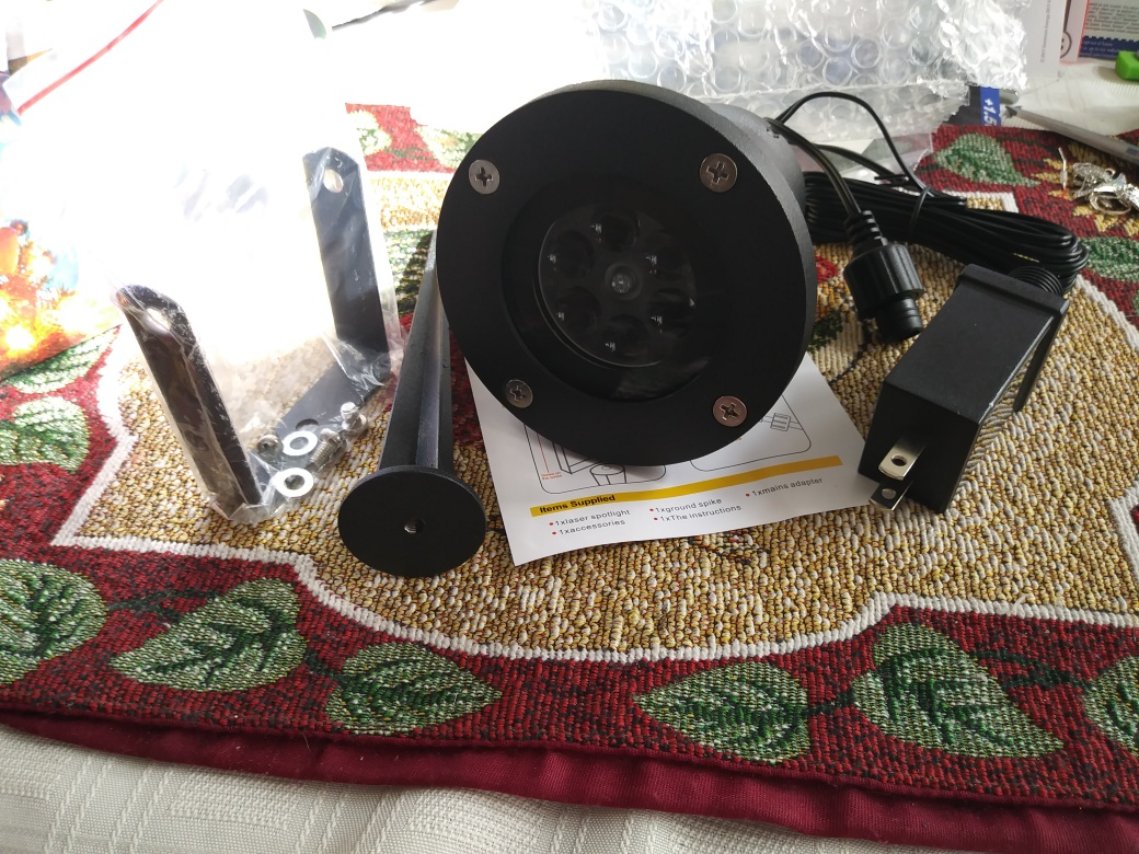 Snowflake projector Just in time for Christmas!