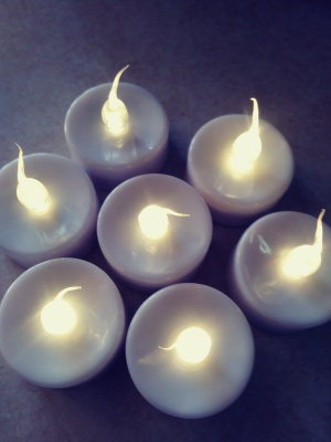 wonderful Tealights with timer