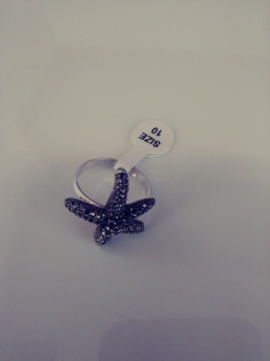 Gorgeous Starfish Ring