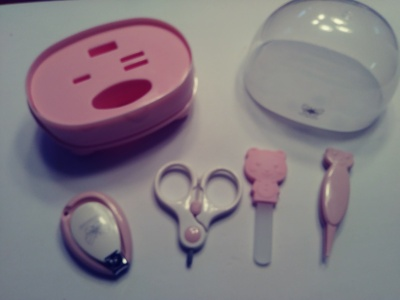Adorable baby nail care kit