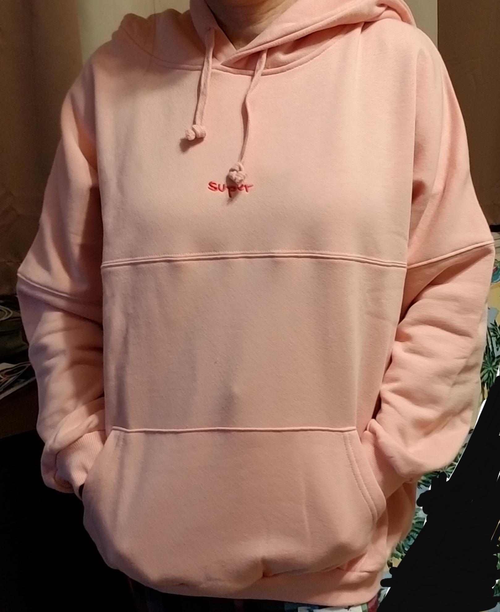 baggy sweatshirt