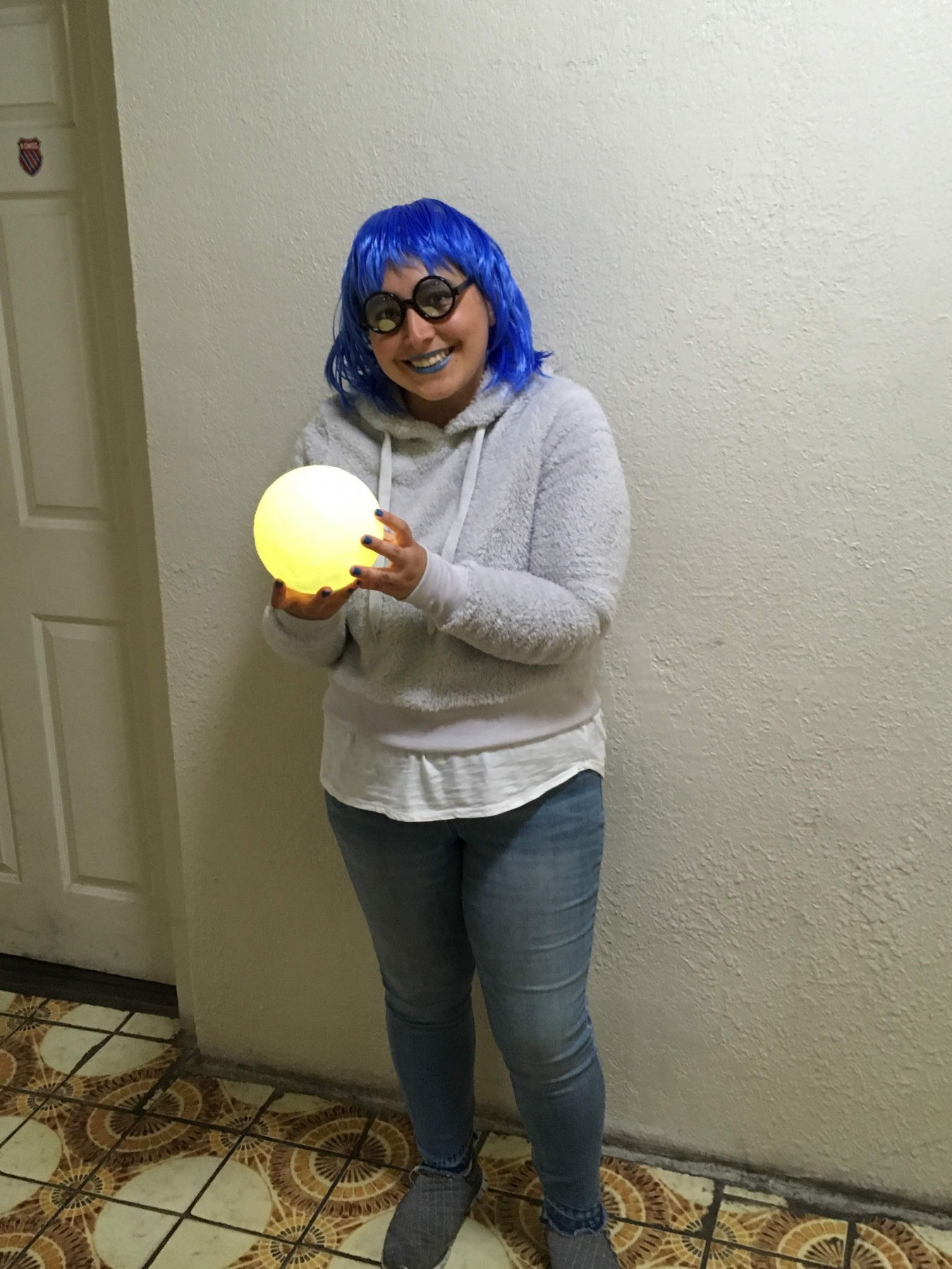 The best prop for a Inside Out costume