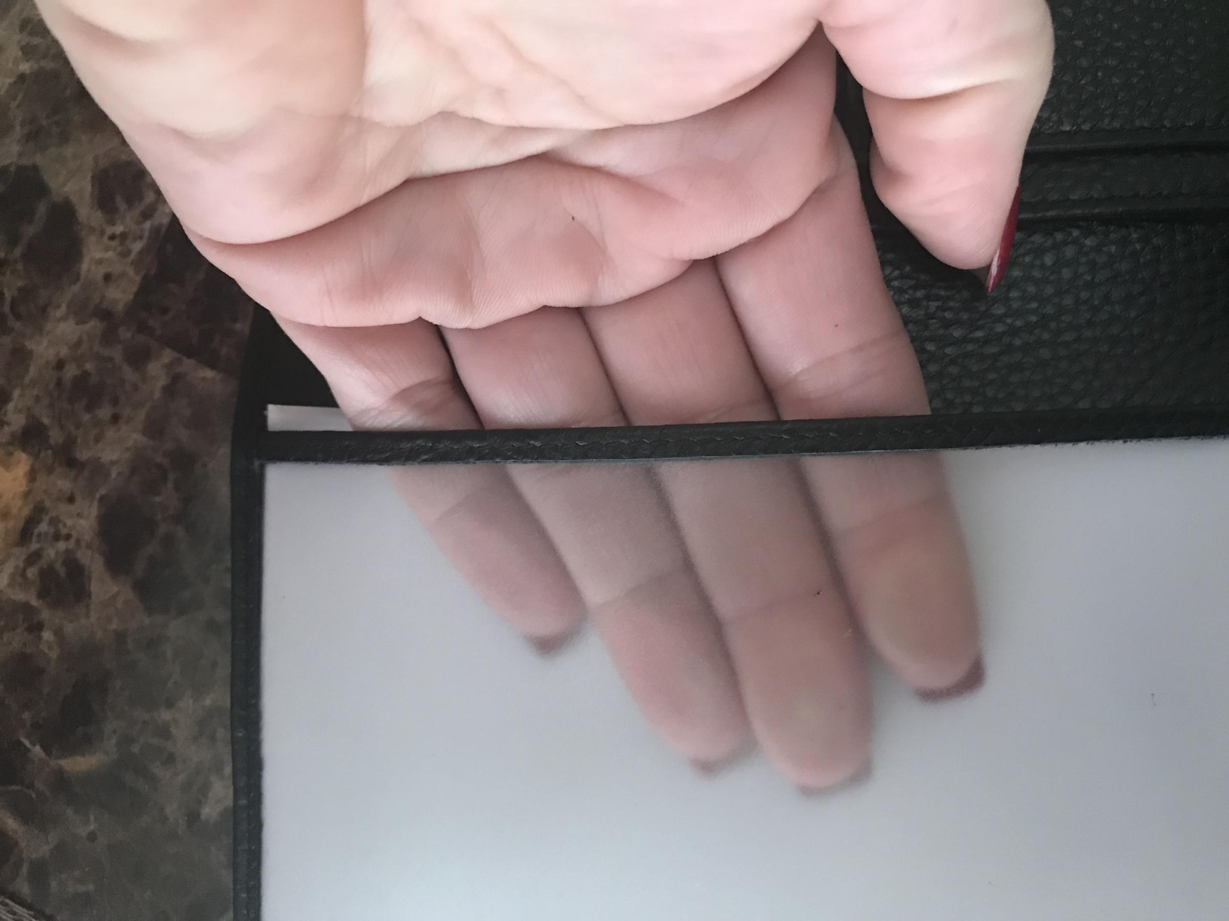 Leather RFID blocking passport holder from FancyStyle.