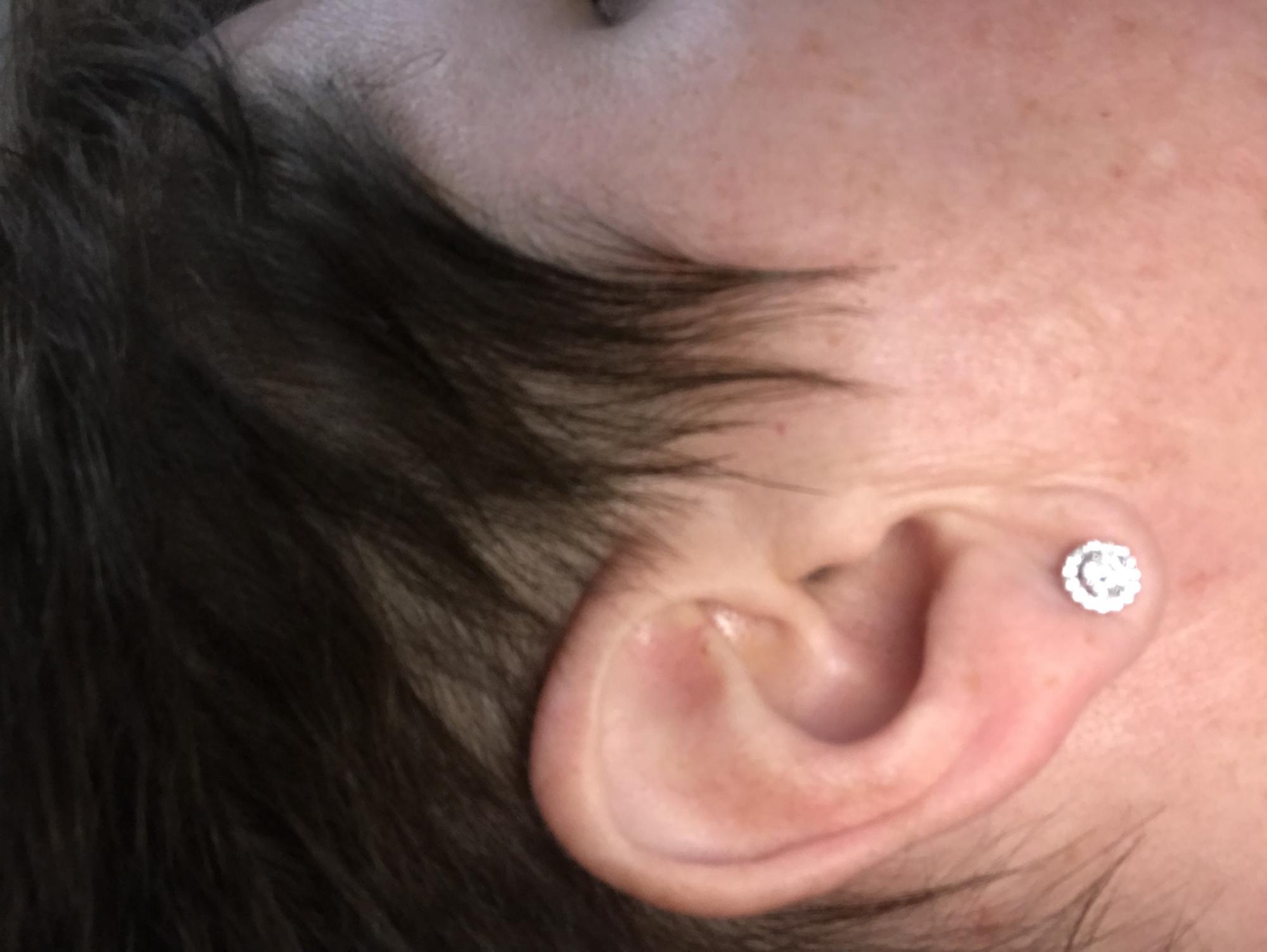 Stud earrings by Spoil Cupid.