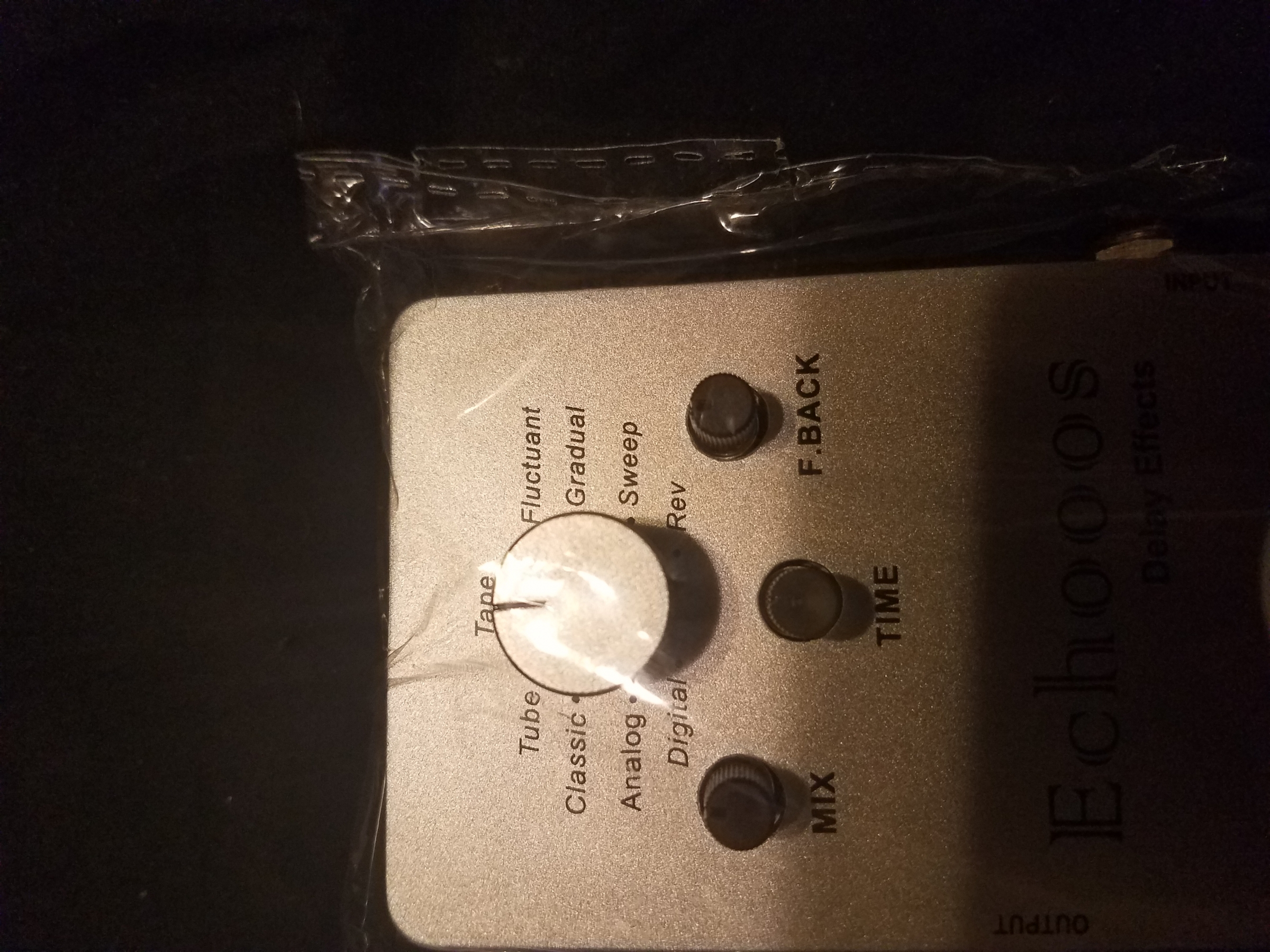 This Pedal is the total delay package in one.
