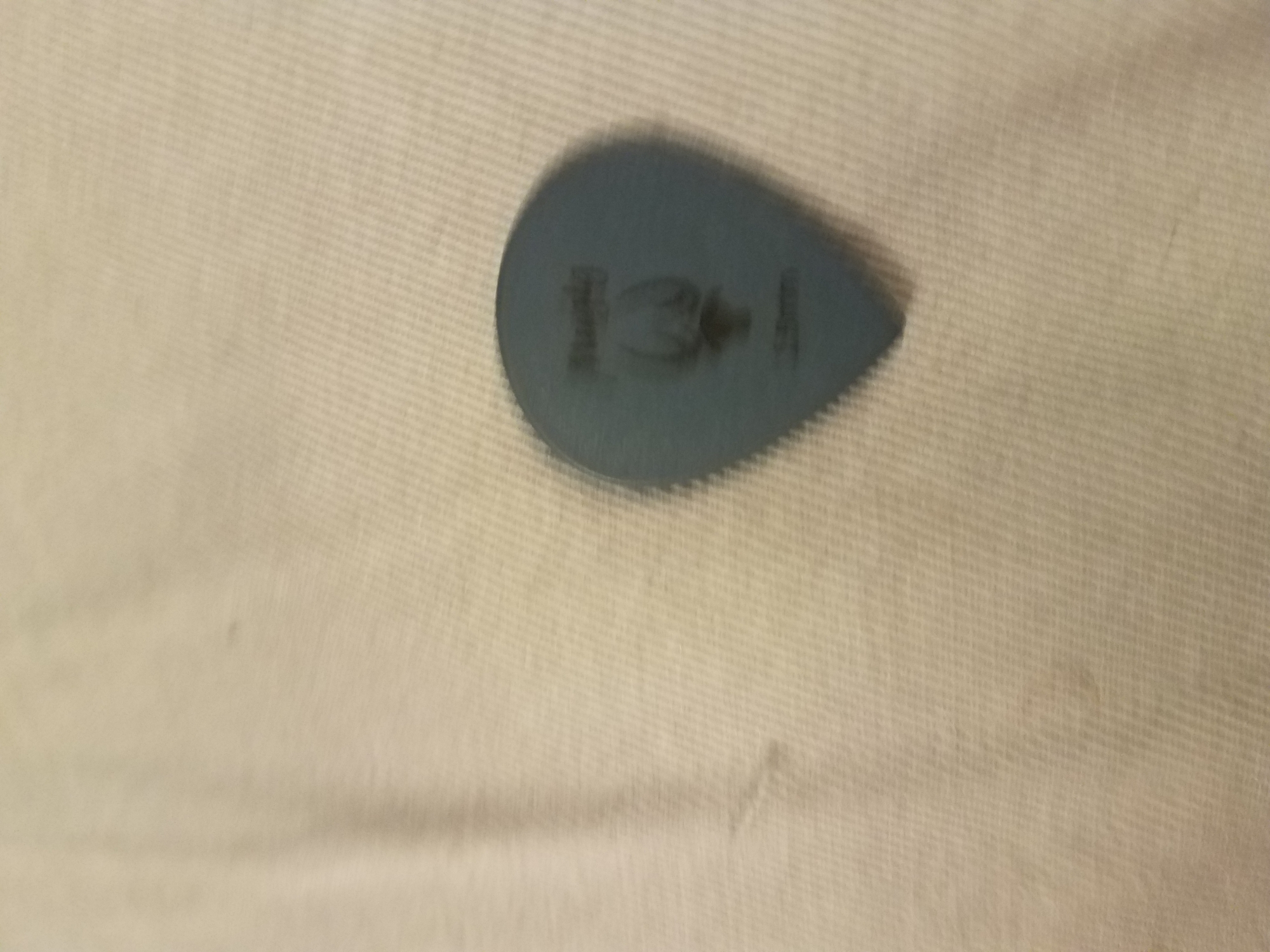 Great pick. Same material as Tortex