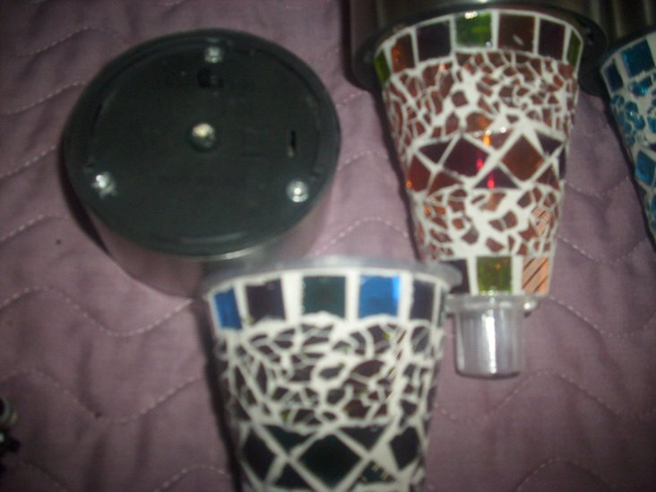 Mosaic Solar Lights add Style and Beauty