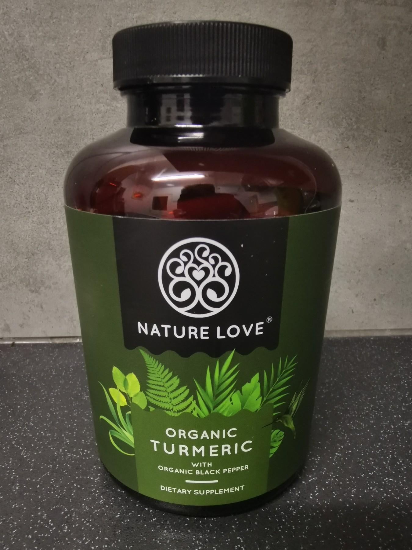 Supplement -  Tumeric, Curcumin & Black Pepper