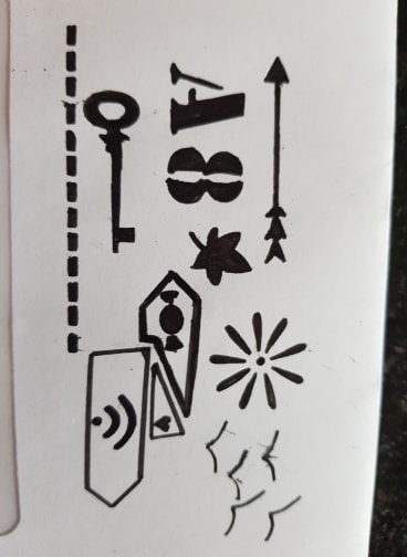 Brilliant stencil set