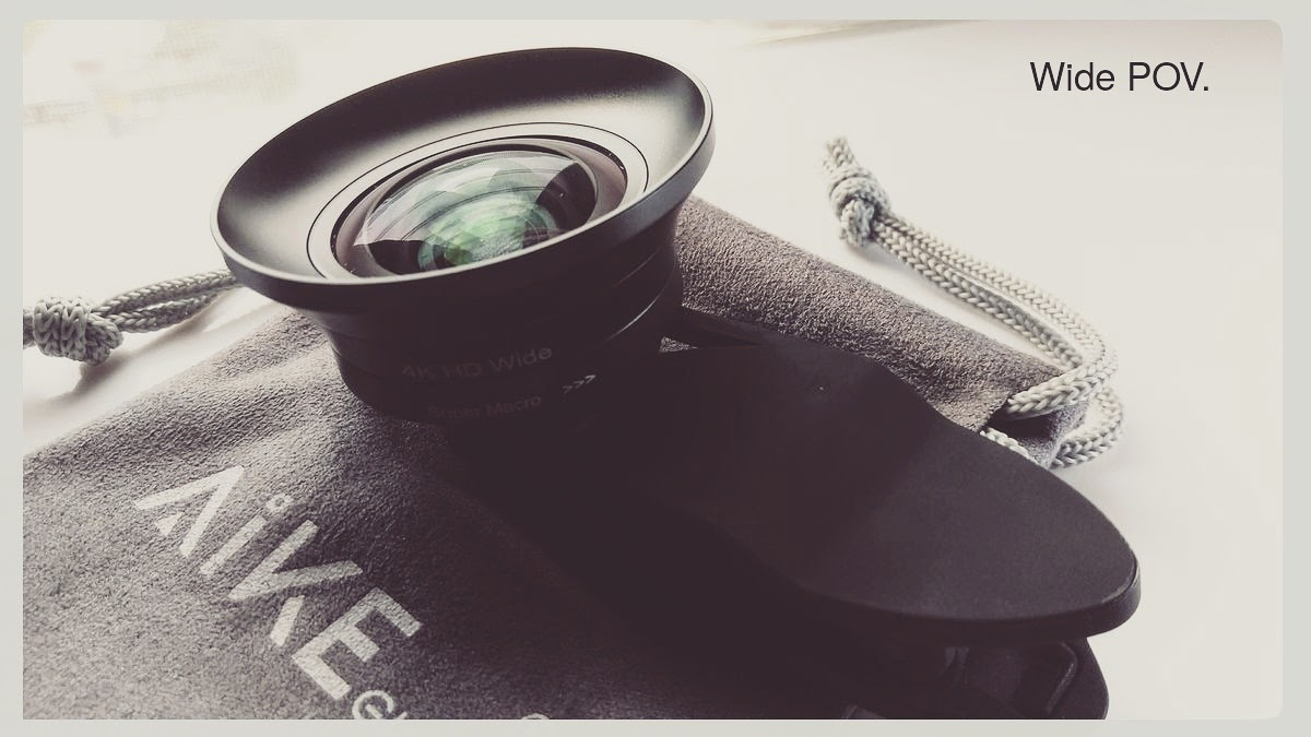 The Simple Macro/Wide Angle Lens Kit for Professional Mobile Photographers