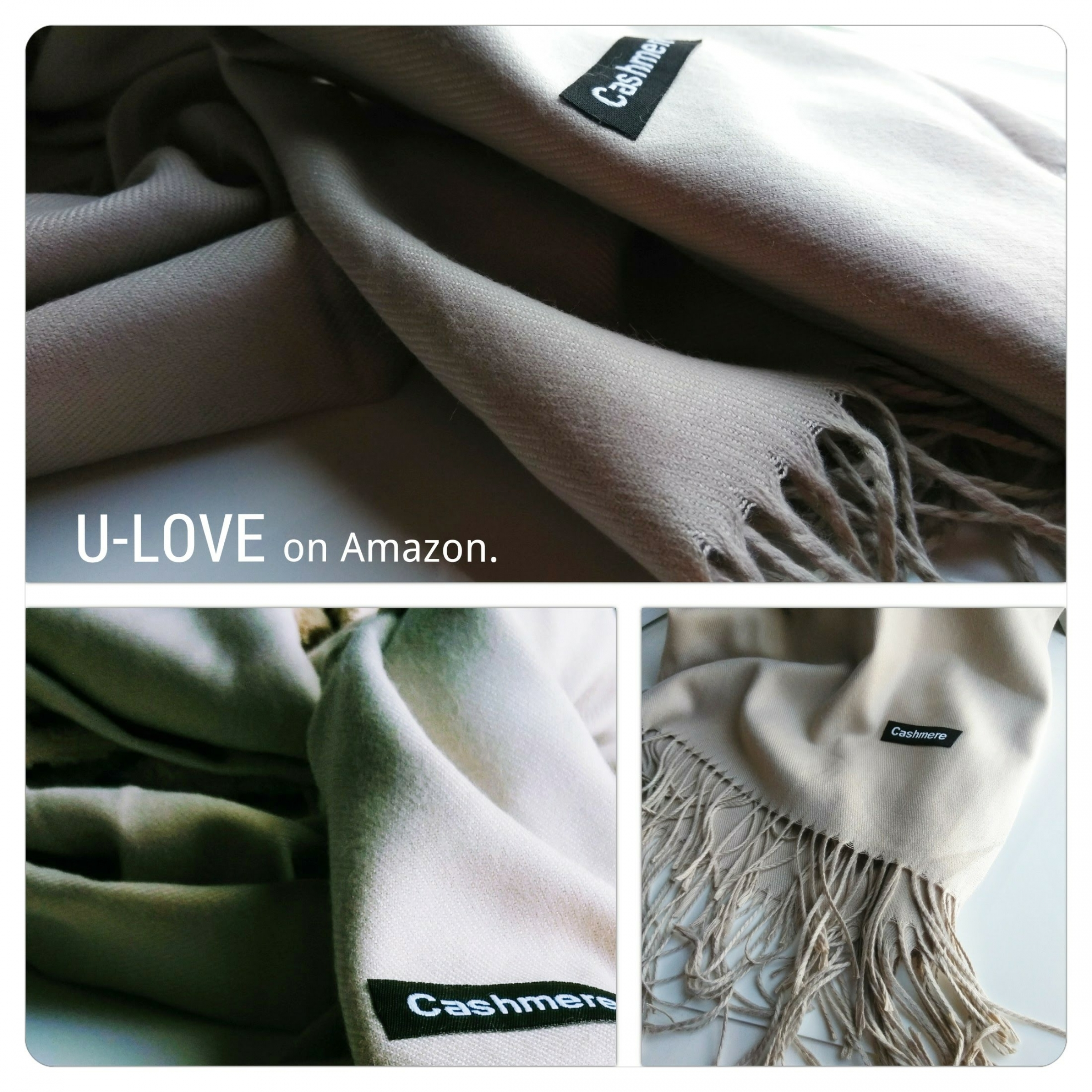 U-Love's Solid Color Scarf Large Silk Shawl is Inexpensive and the Perfect Alternative to a Cashmere Scarf