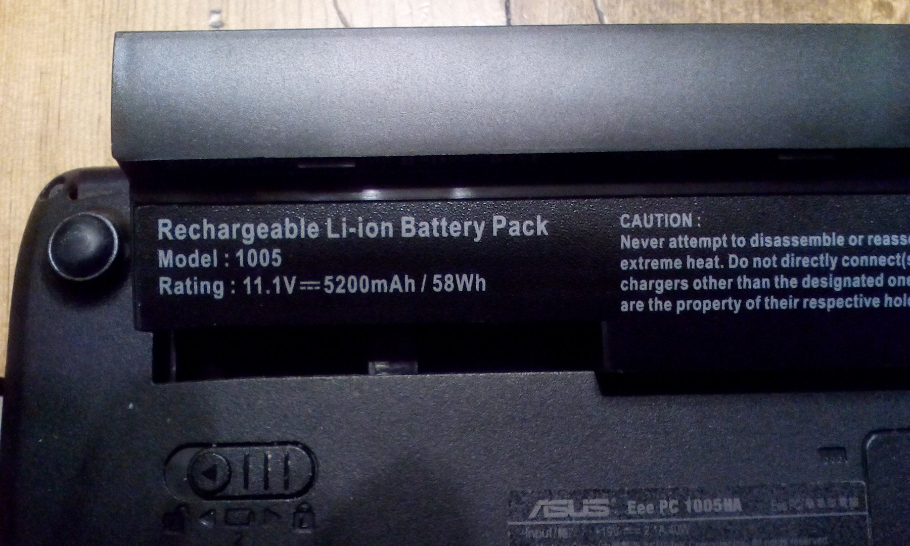 Exact replacement for original battery pack at a great price