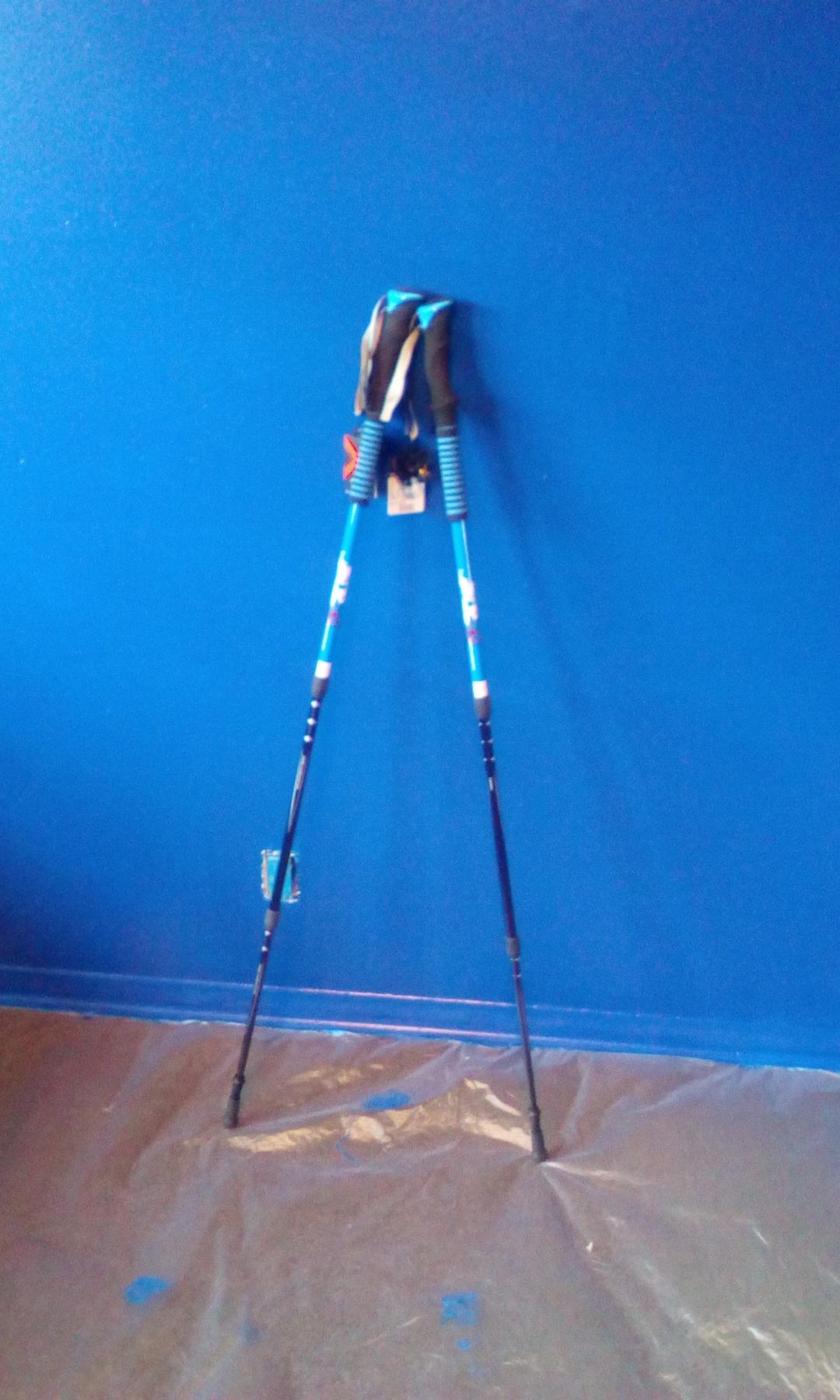 Lightweight adjustable trekking poles