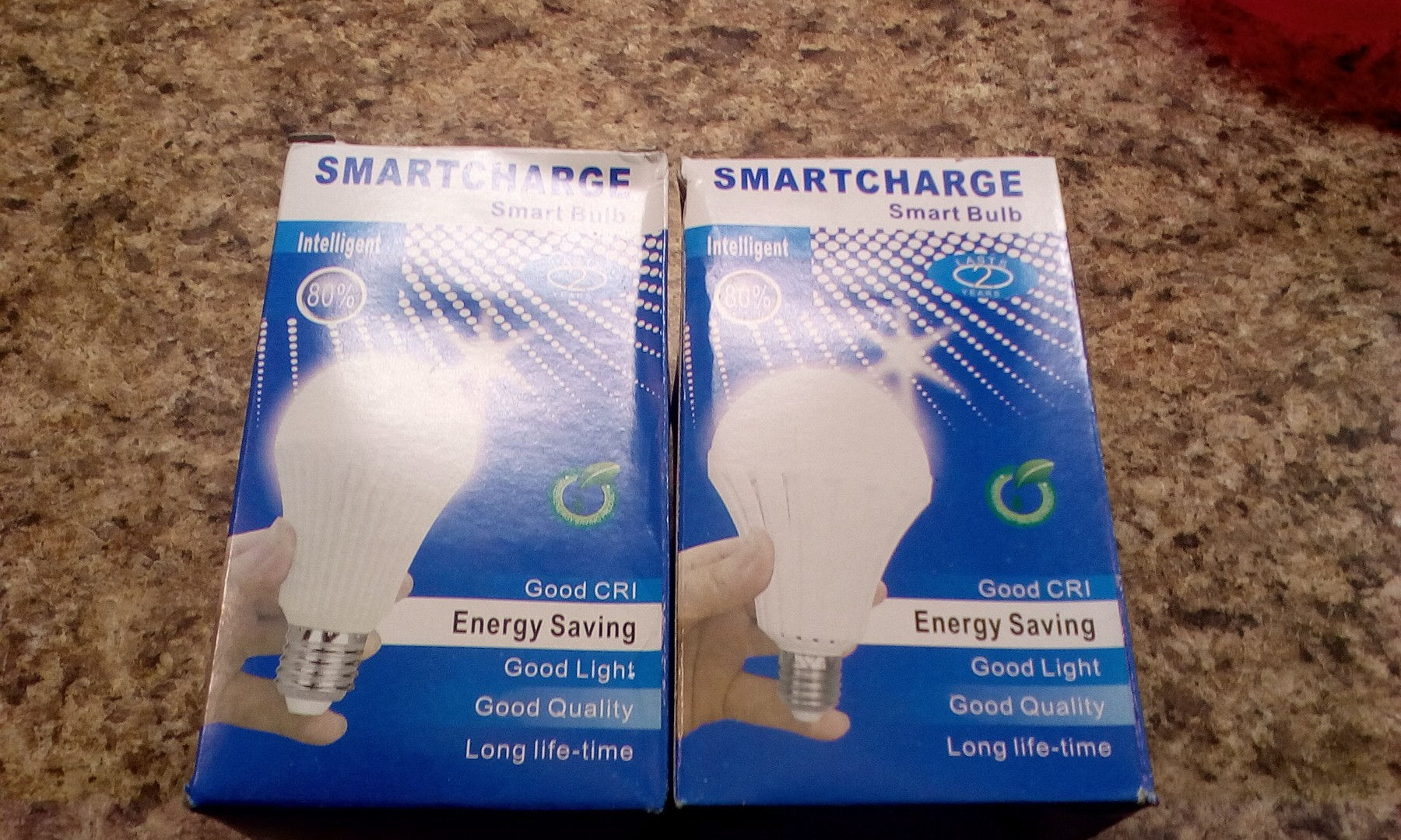 Emergency LED light bulbs