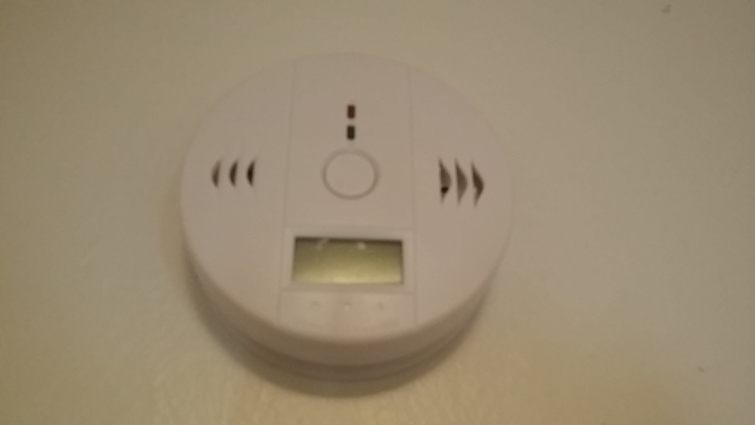 Great CO detector with digital readout