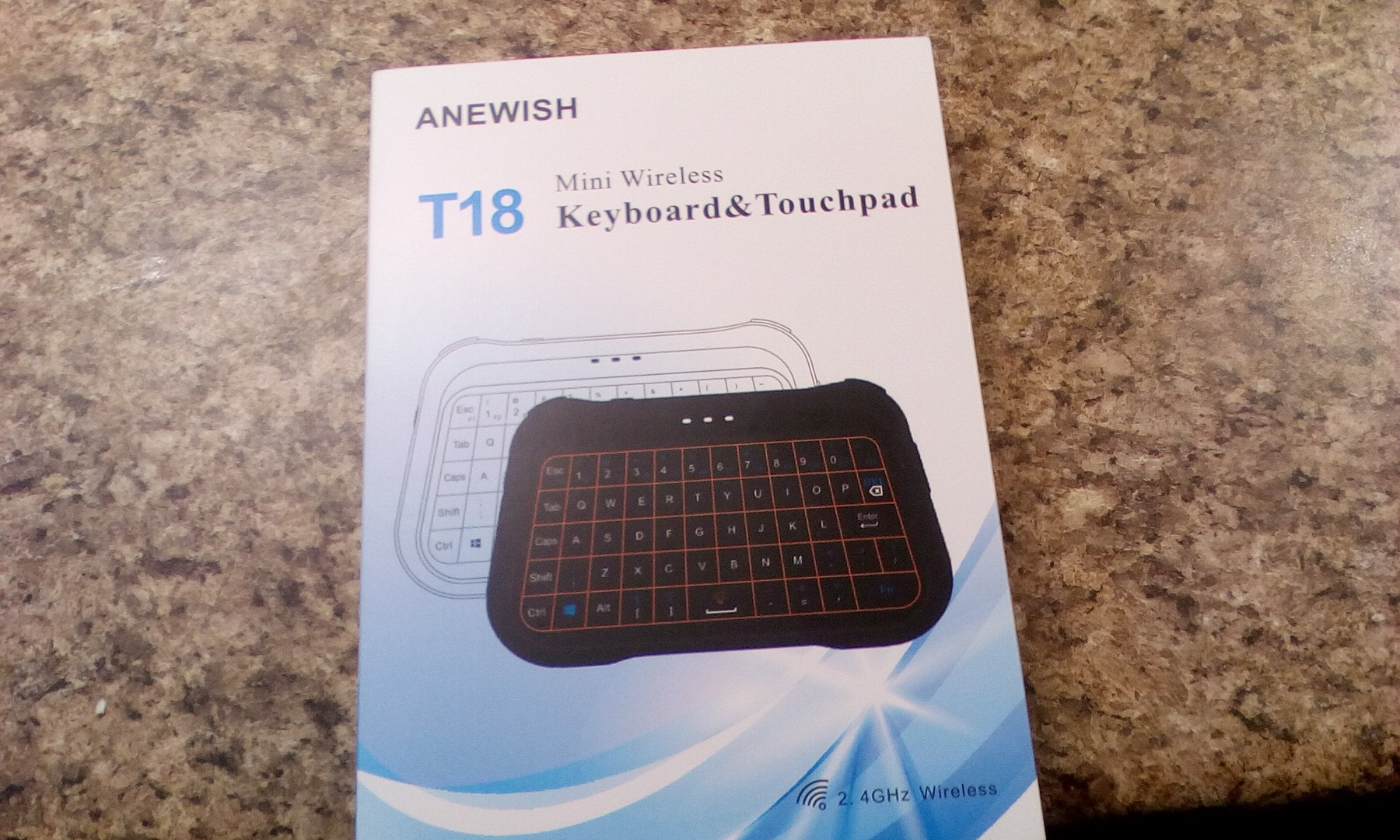 Multi-purpose thumb keyboard/touchpad combo