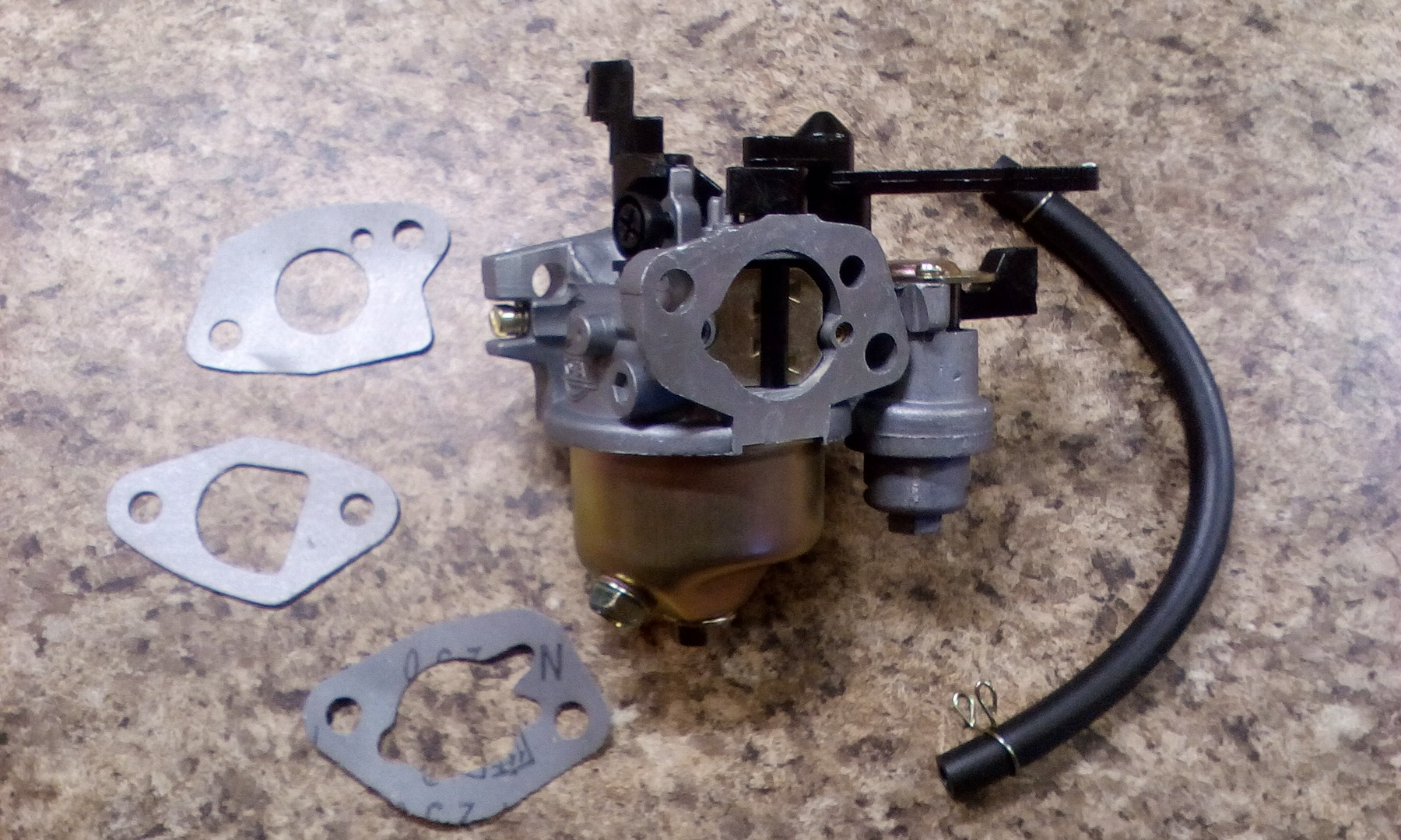 Exact replacement for original Predator 212 carburetor