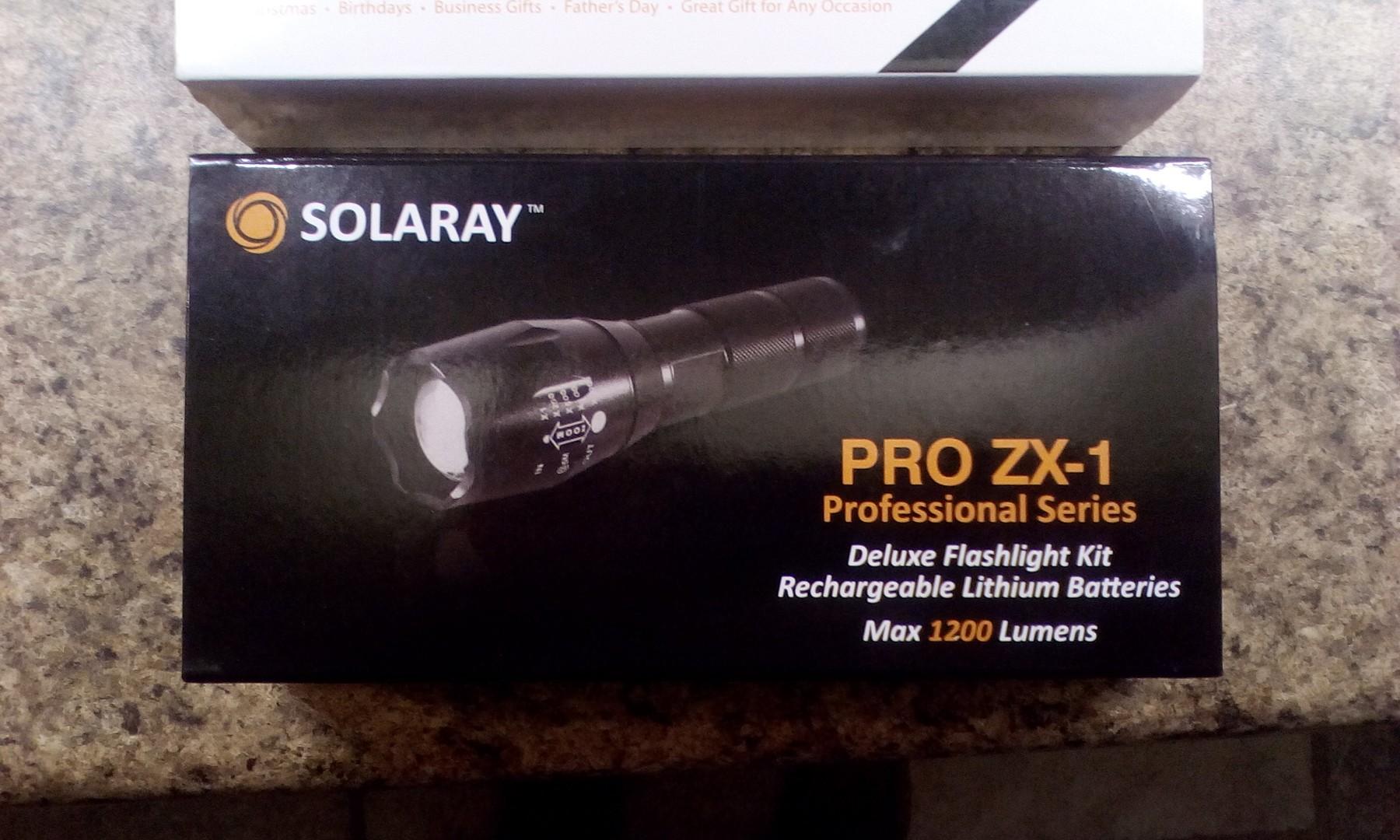 Complete emergency lighting kit