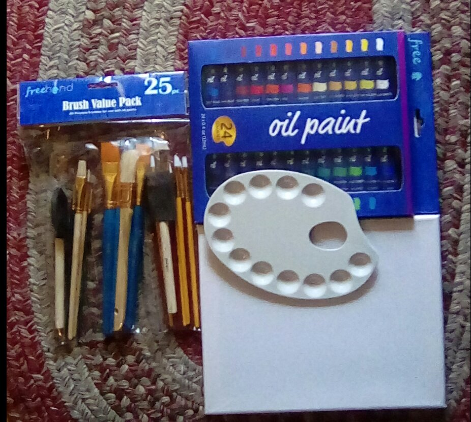 Great for beginners, paint is very hold and goes on easily, brushes are great