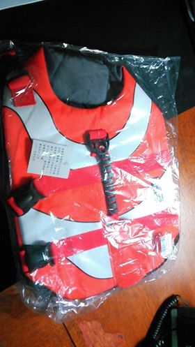 Now my service dog can come with me, this life jacket for her makes it possible.