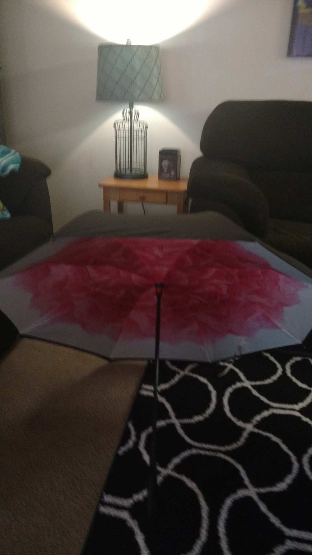 I love this design. Very useful Umbrella.