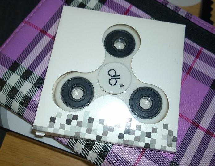 Because I fidget I spin it