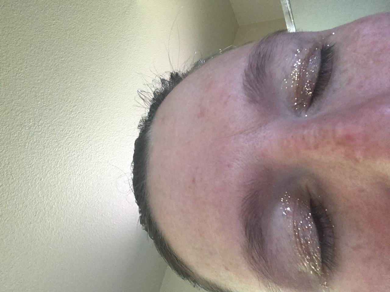 Oh the glitter