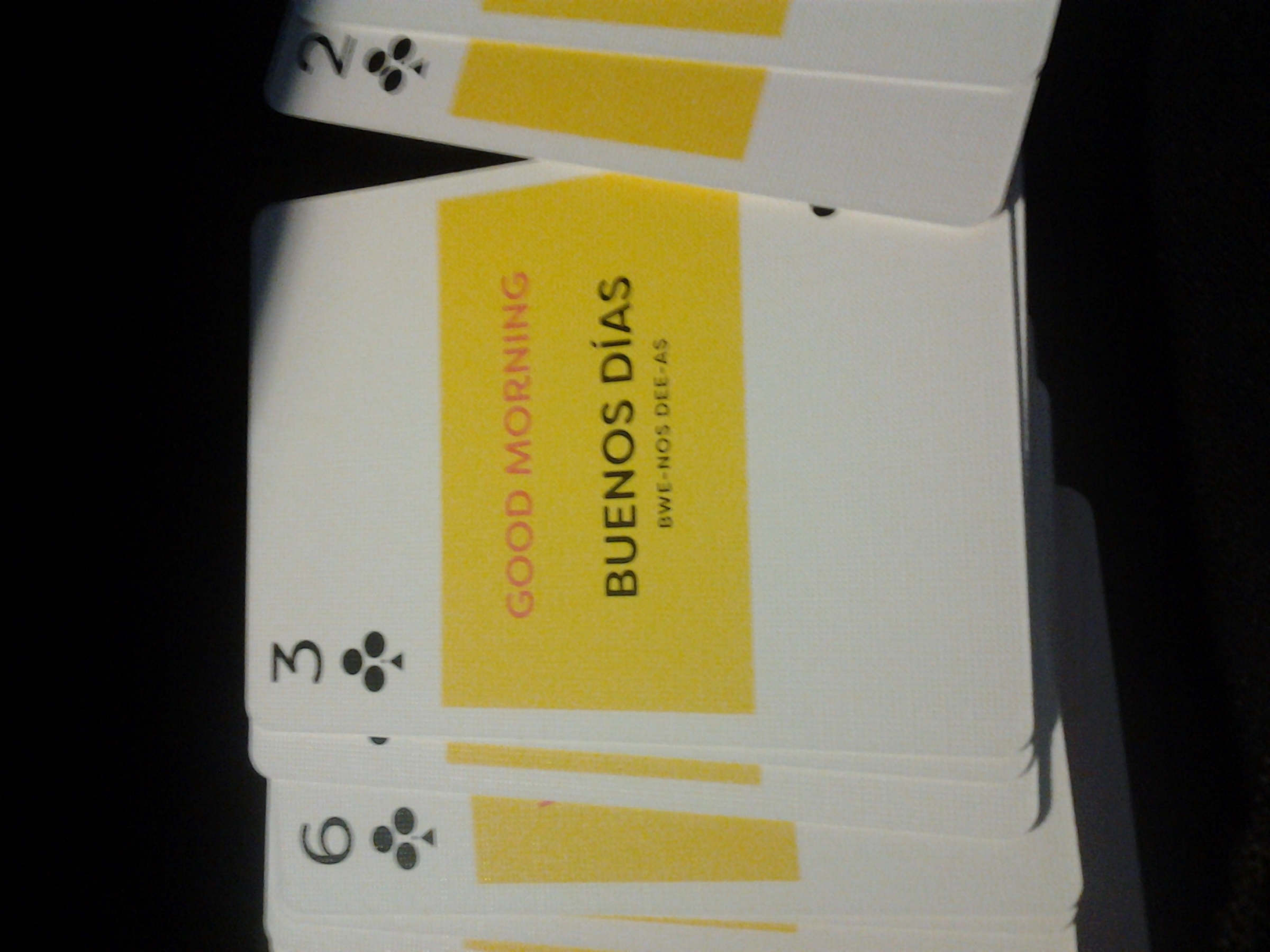 Interesting playing cards