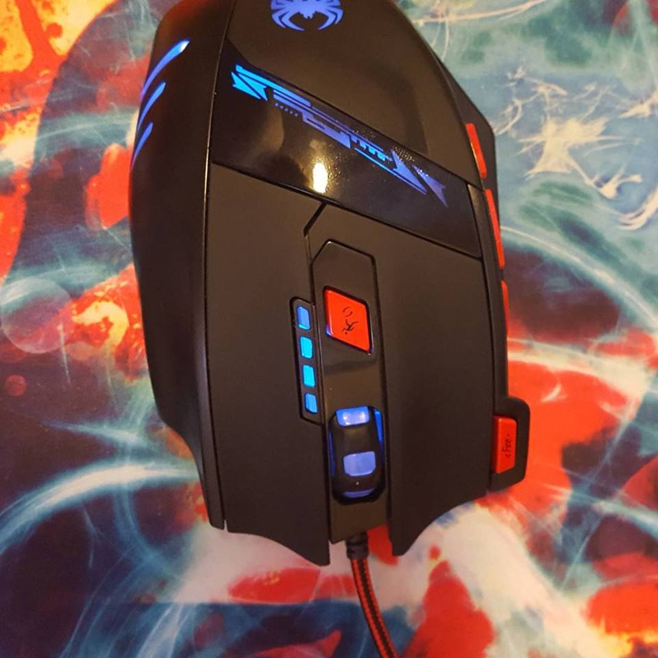 A cool gaming mouse.