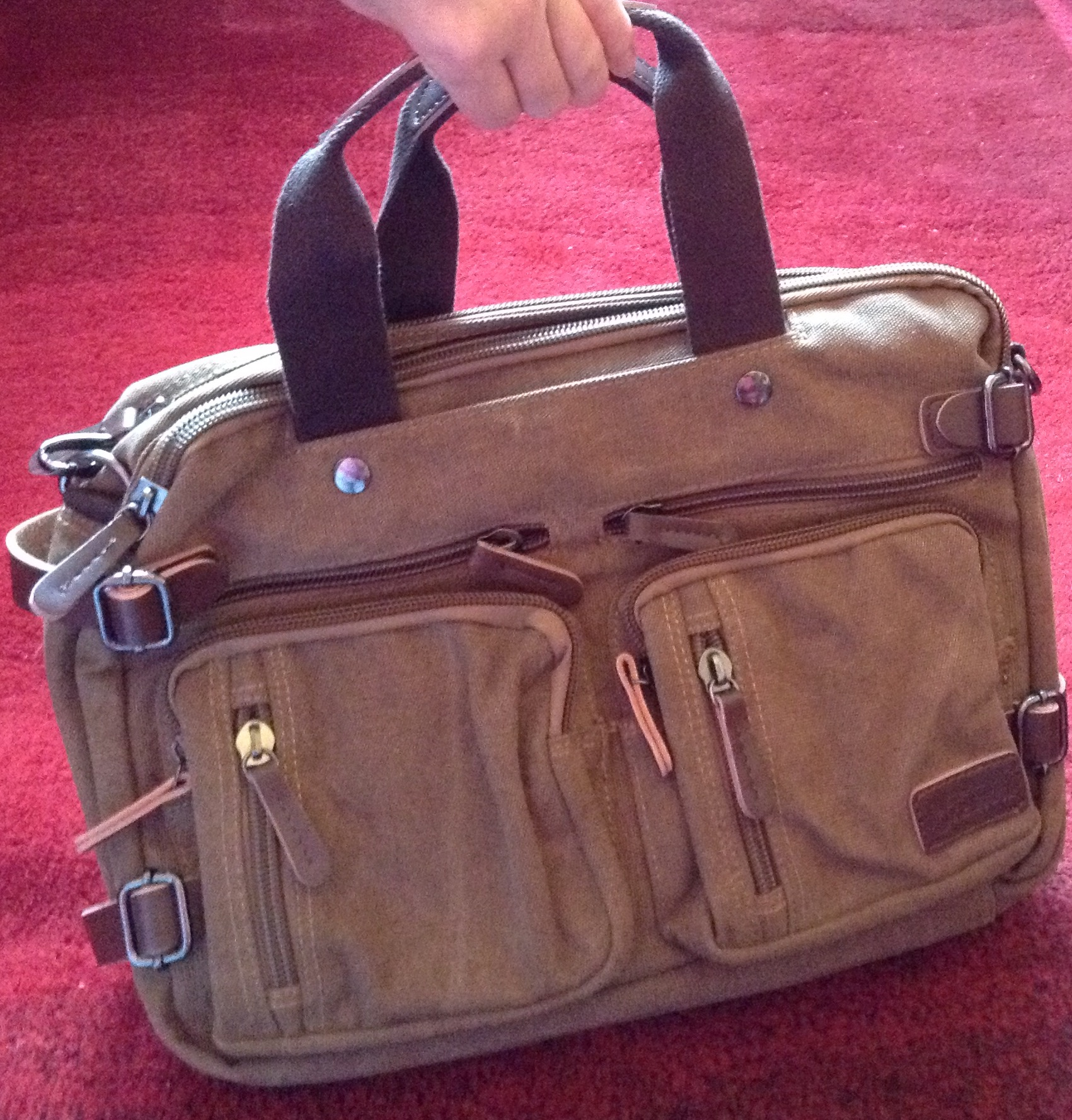A Fabulous Briefcase Backpack