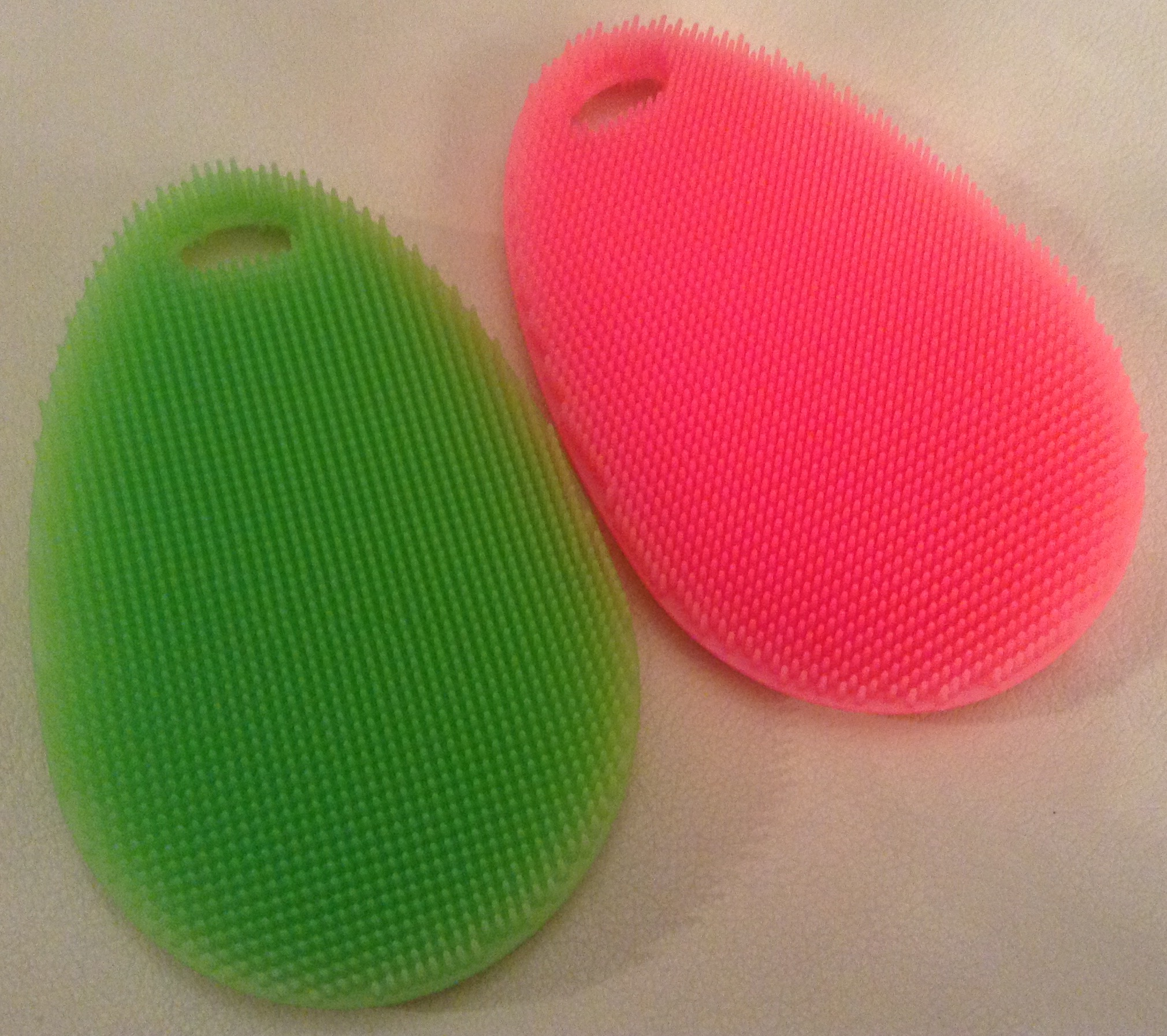 Good quality silicone scrubbers