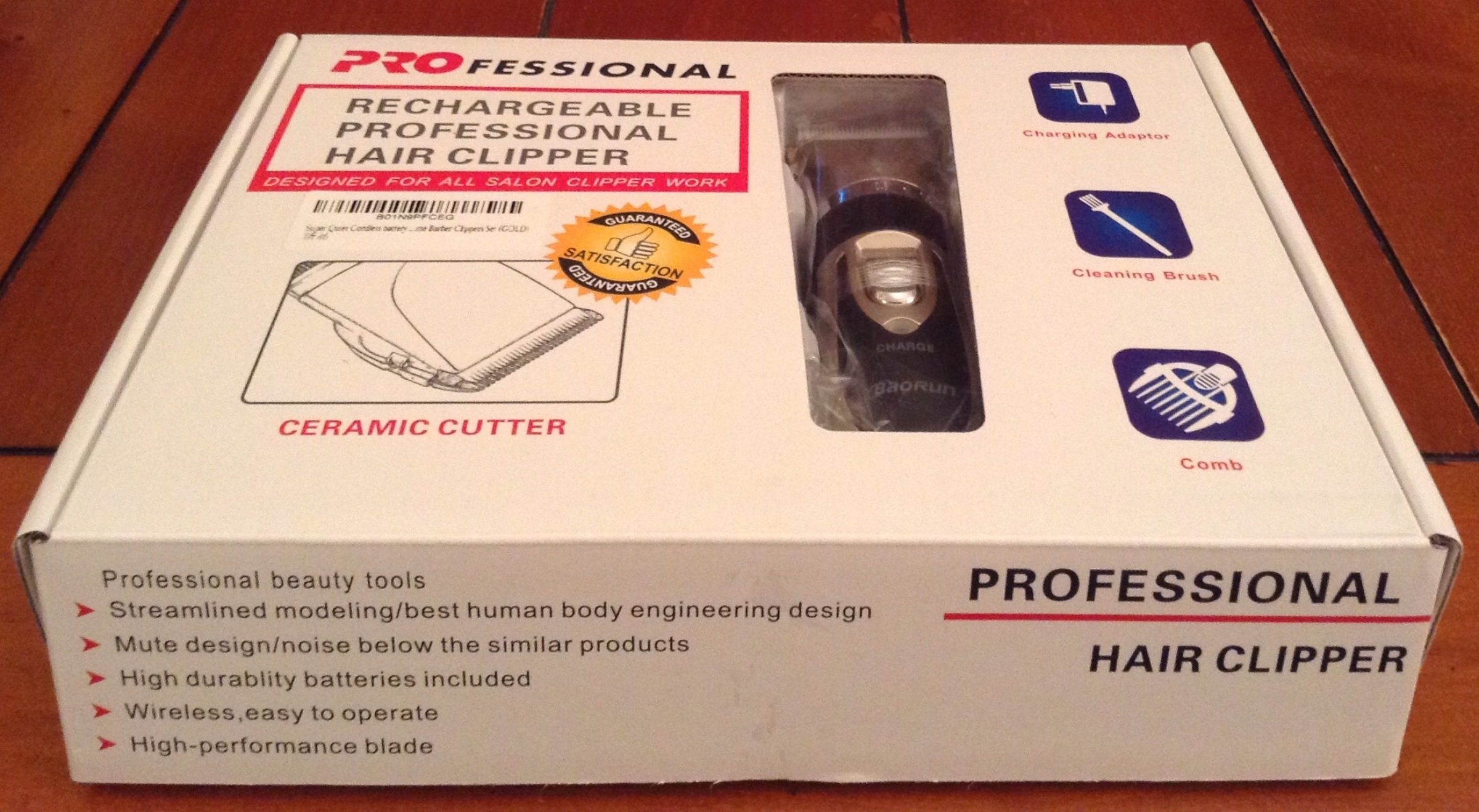 A powerful and functional electric hair trimmer