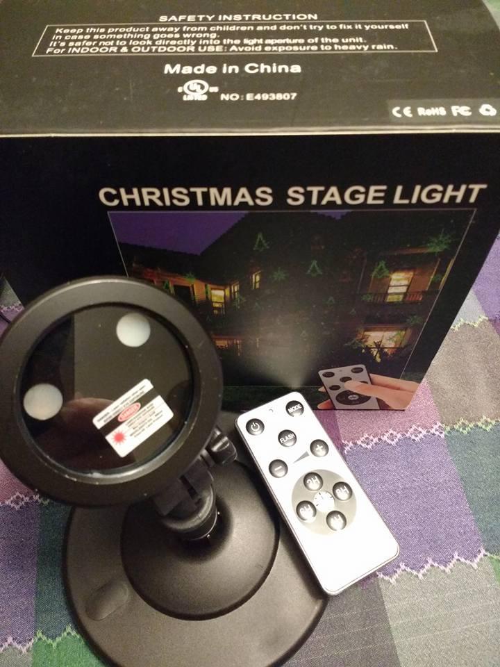 Festive laser lights