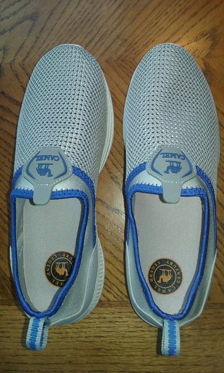 BREATHABLE SLIP-ON SHOES