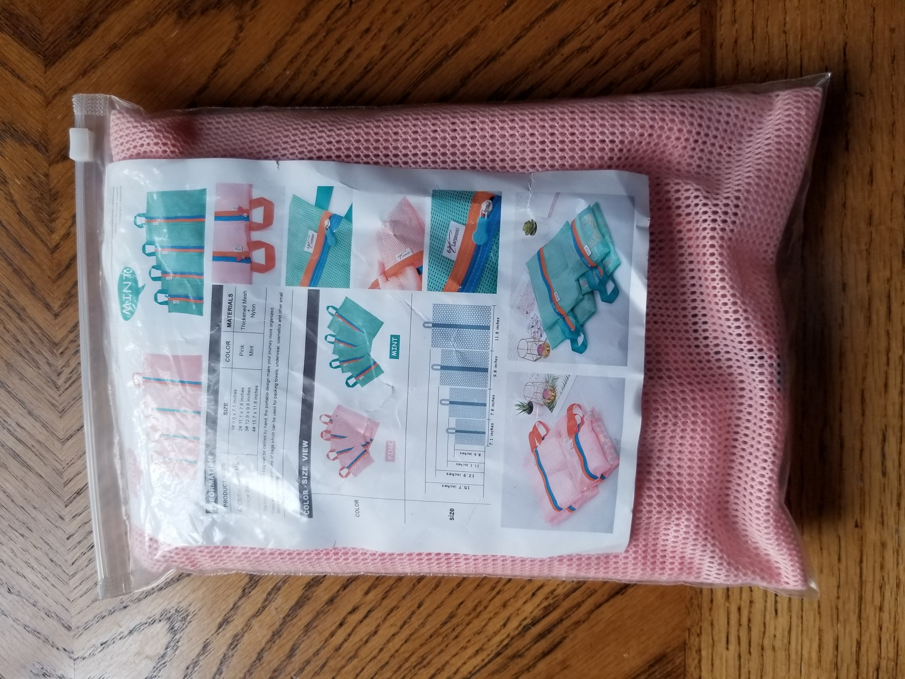 4 MESH BAGS IN 4 SIZES