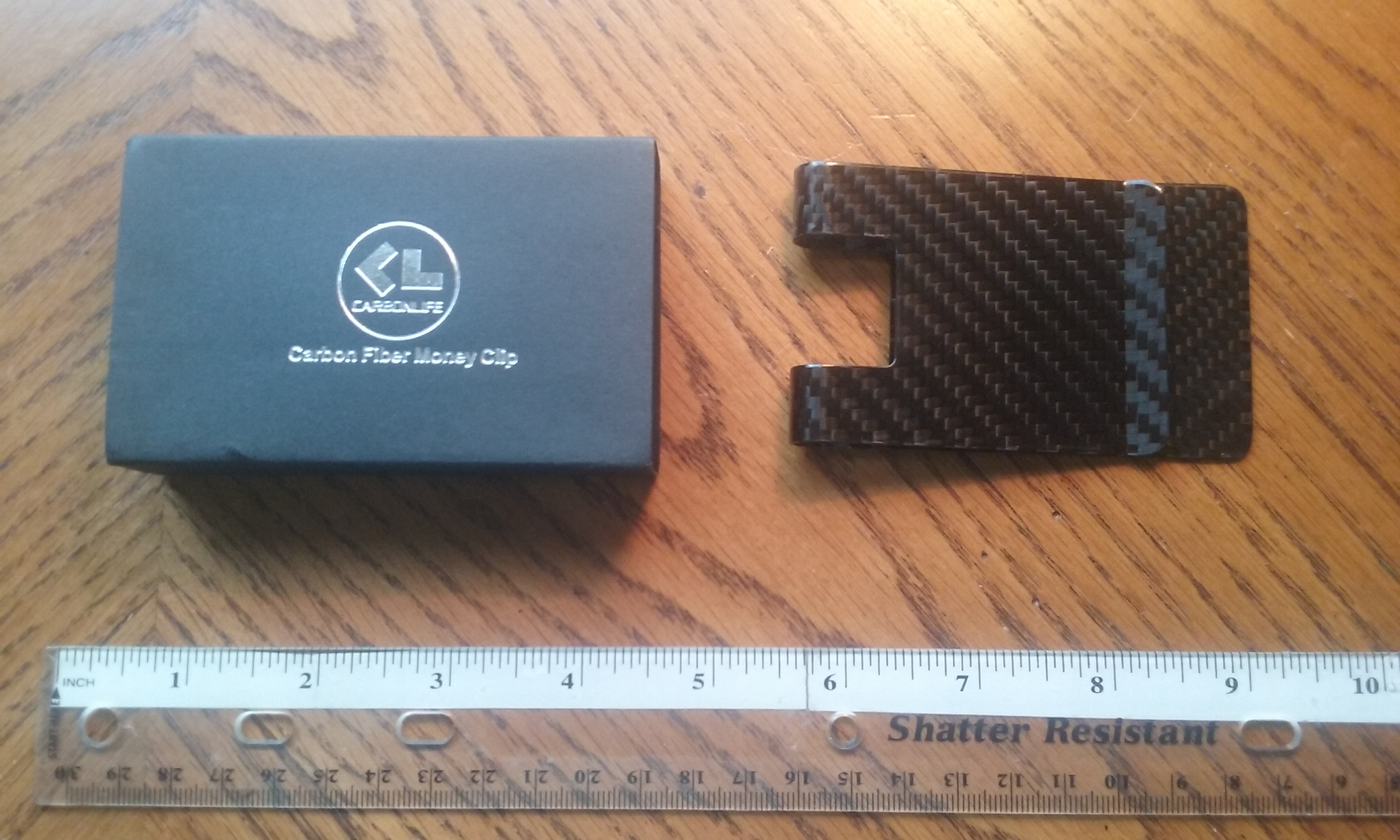 SLIM, STURDY MONEY CLIP WITH RFID