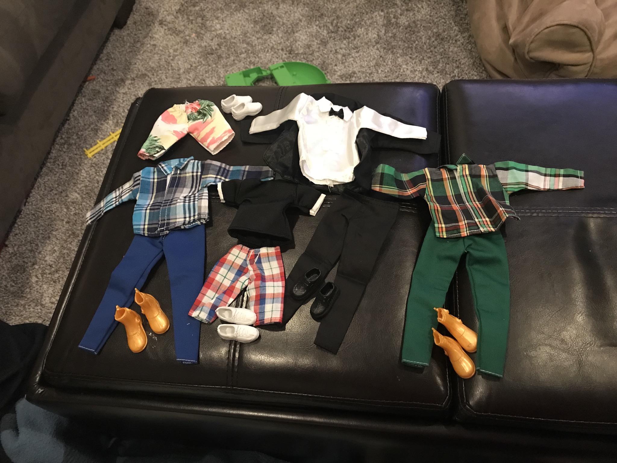 Adorable clothes for Ken
