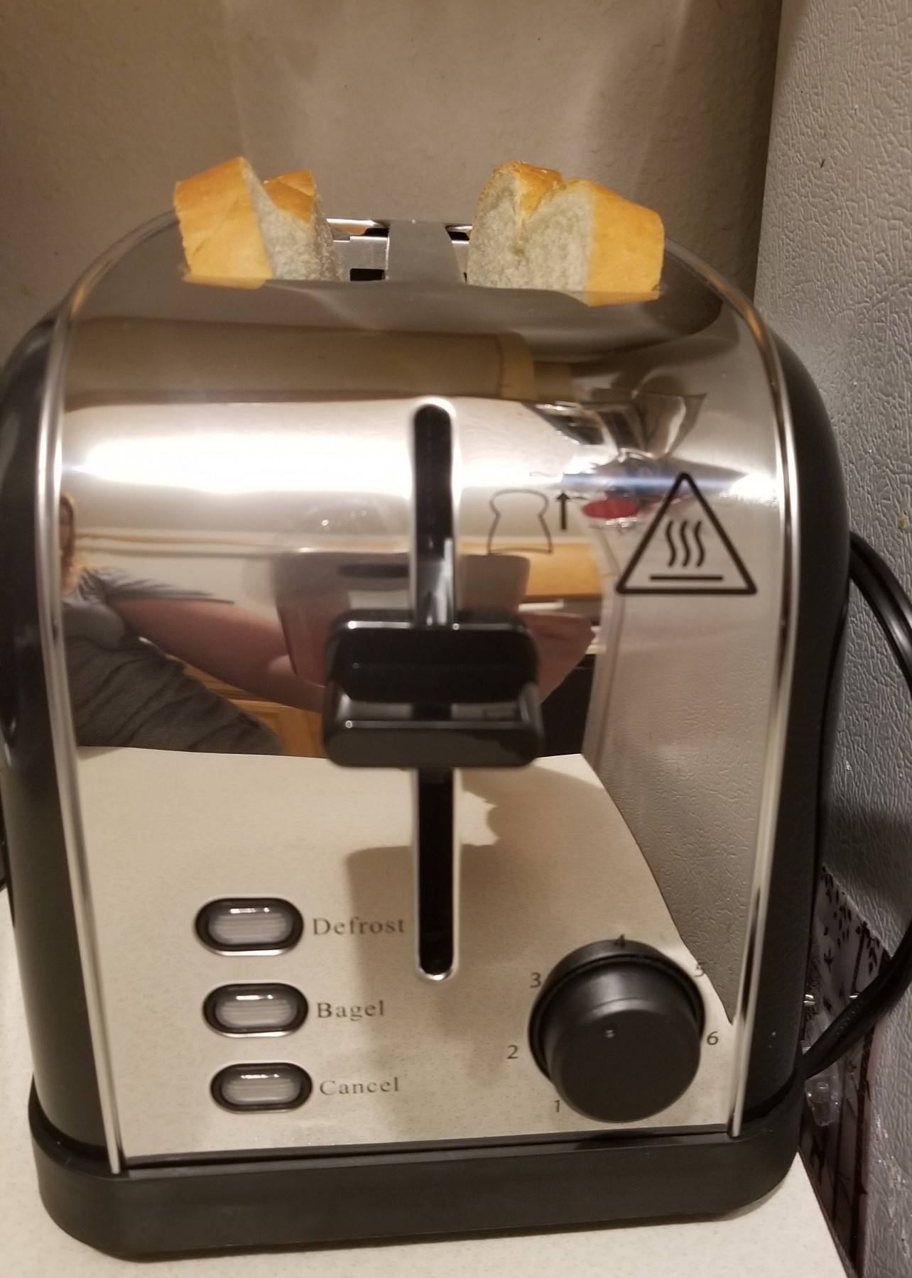 Very cool and neat toaster!
