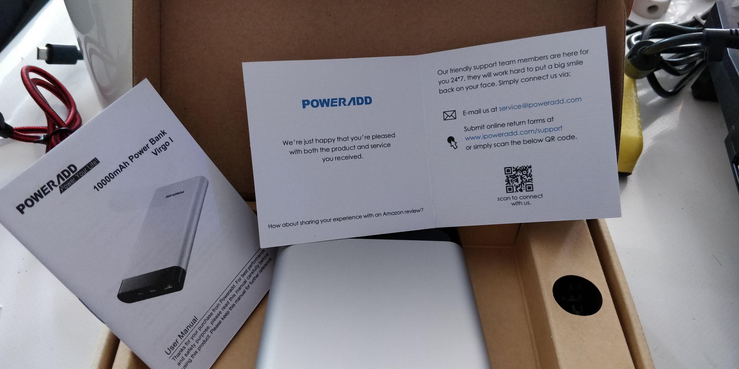 De las mejores PowerBank que he probado.