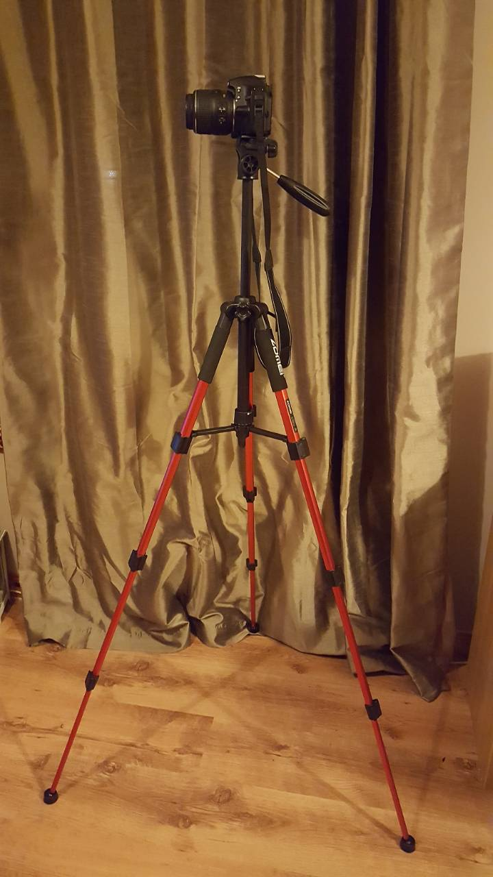 Red Zomei Q111 Tripod