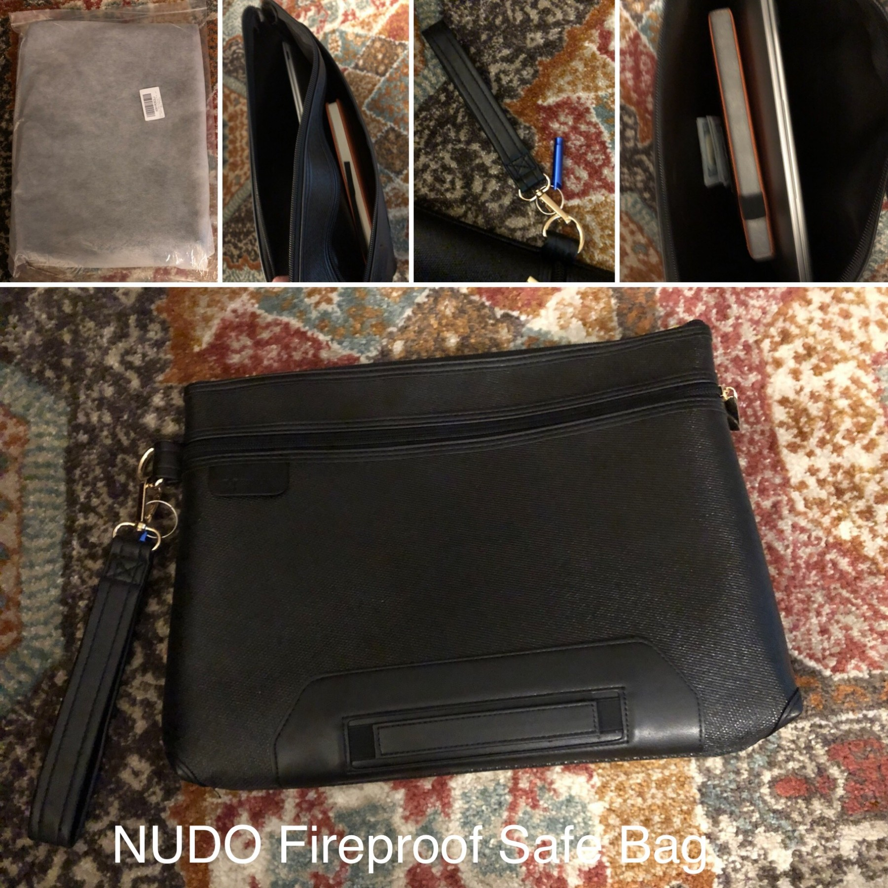 NUDO Fireproof Safe Bag is Both Attractive and STRONG!