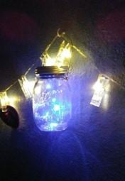 Solar powered Mason Jar Lights 4 pack